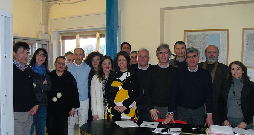 Il gruppo di progettazione del Prg