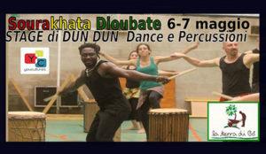 Stage di Dun Dun Dance e Percussioni Africane @ La Terra di Bò | Sicilia | Italia