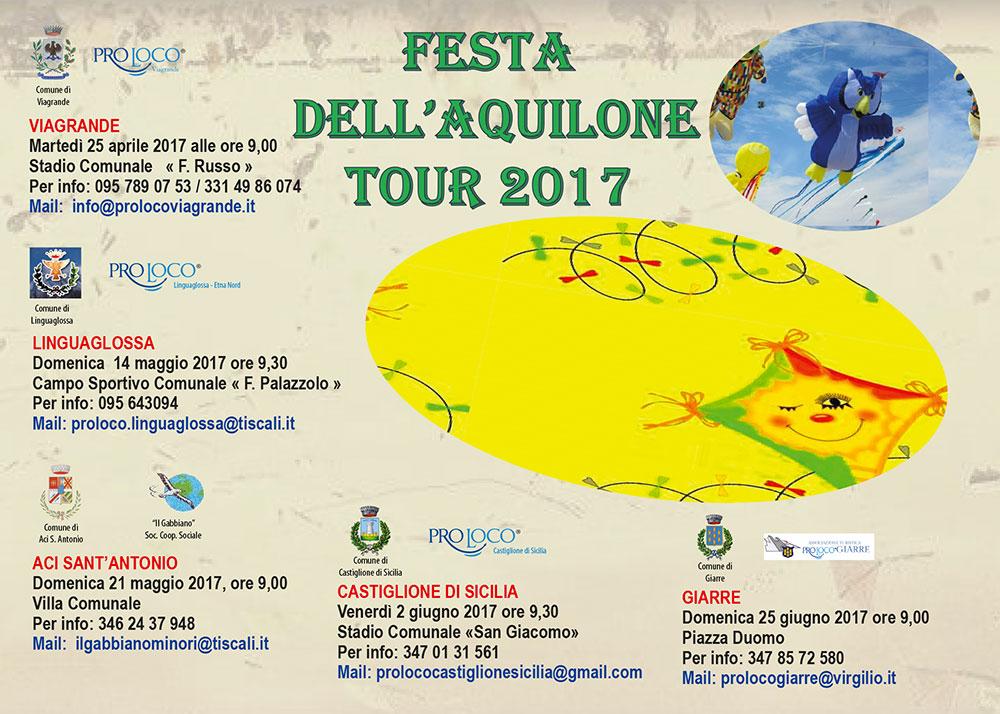 Festa dell'Aquilone Tour 2017