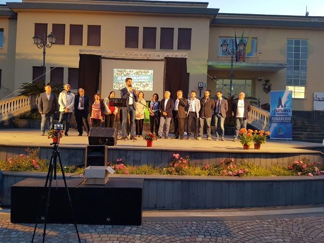 Aci Bonaccorsi: Primo comizio pubblico per il candidato a sindaco Salvo Tomarchio