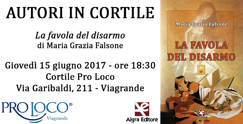 Autori in Cortile: Maria Grazia Falsone