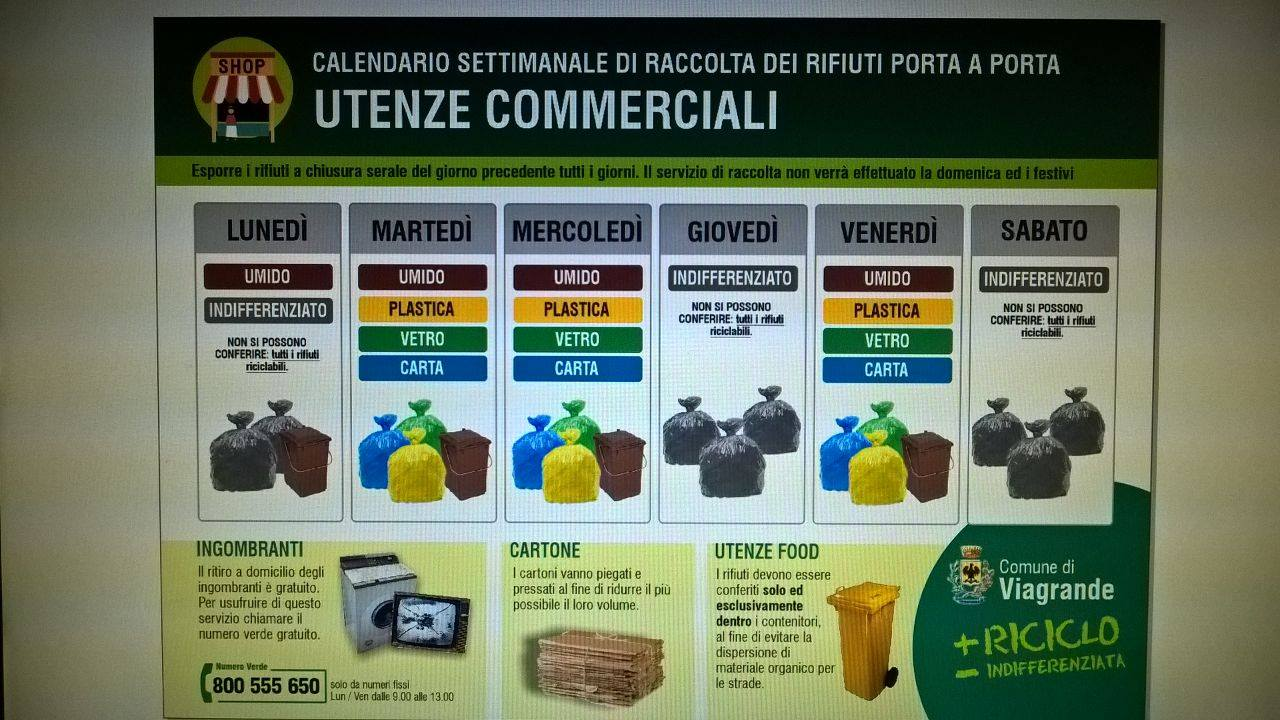 Calendario Raccolta Differenziata Cerveteri.Calendario Rifiuti Capo Dorlando