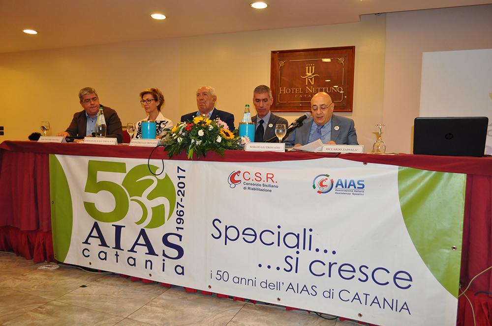 Catania, disabilità. Resoconto e foto convegno per i 50 anni AIAS Catania