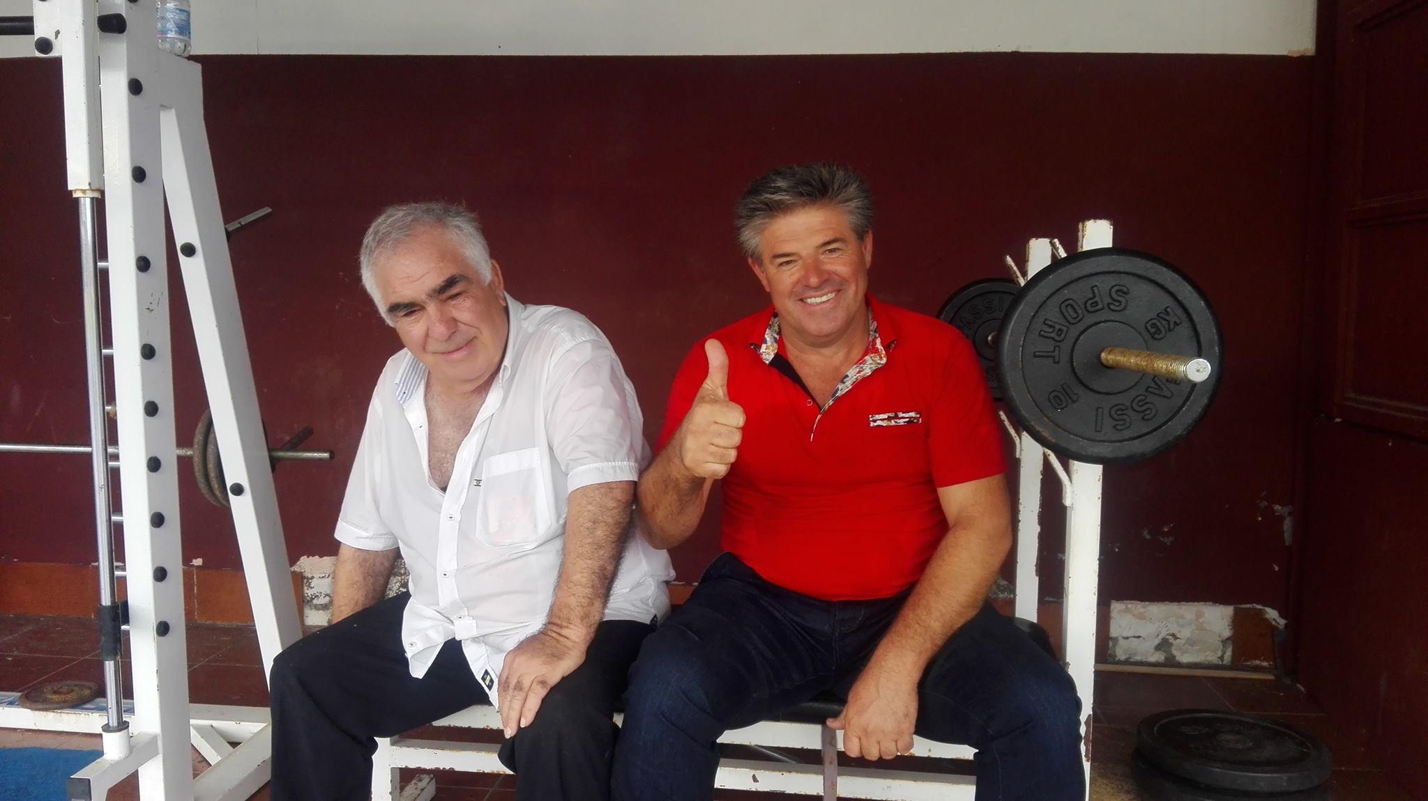Sporting Viagrande: i due presidenti, Mario D'Agata e Saro Vinciullo