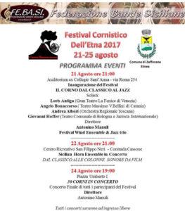 Festival Cornistico dell'Etna @ Sicilia | Italia