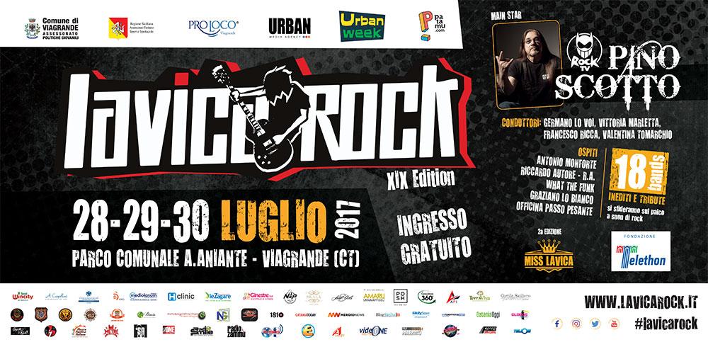 Viagrande. Lavica Rock 2017 XIX Edition