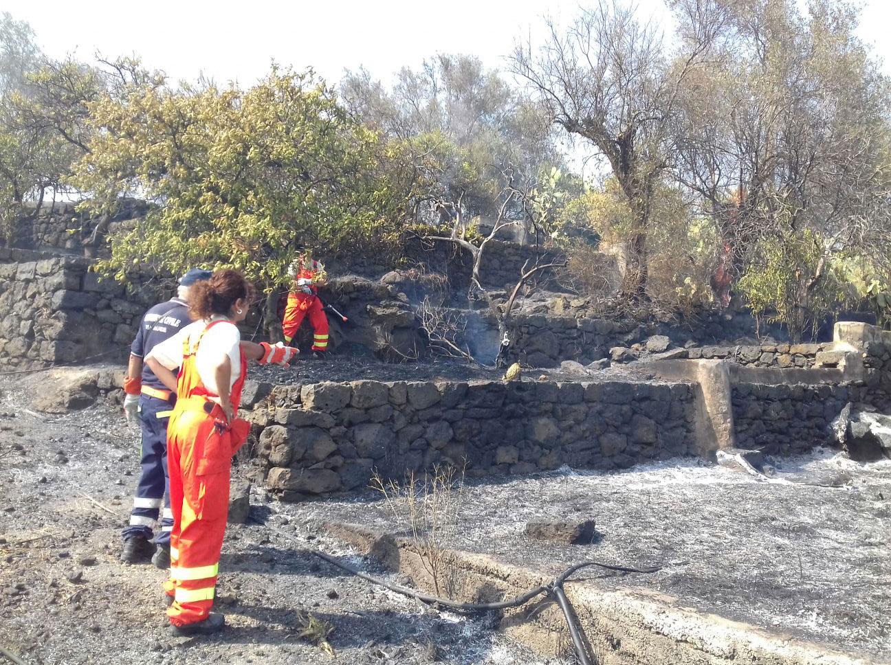 """Incendi: Volontari, Leonardi: """"Orgoglioso dell'operato dell'Aquile Monteserra"""""""