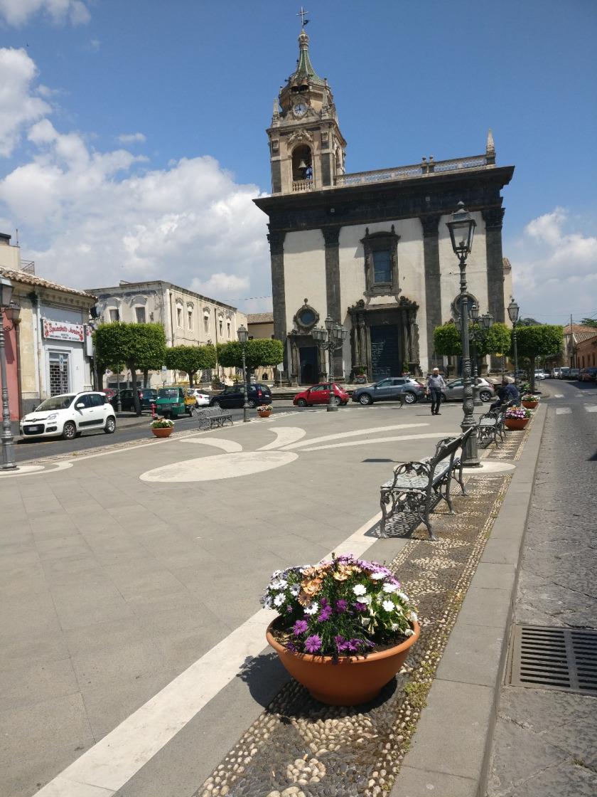 Aquila d'Argento a Piazza San Mauro - Viagrande