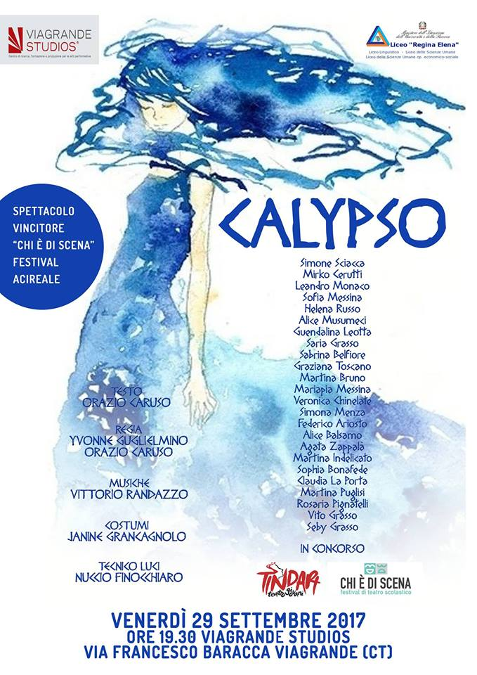 Calypso - Ai Viagrande Studios la rappresentazione teatrale di Orazio Caruso