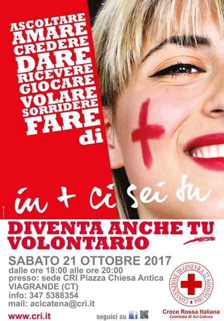Nuovo corso della Croce Rossa Italiana @ C.R.I. Viagrande | Viagrande | Sicilia | Italia