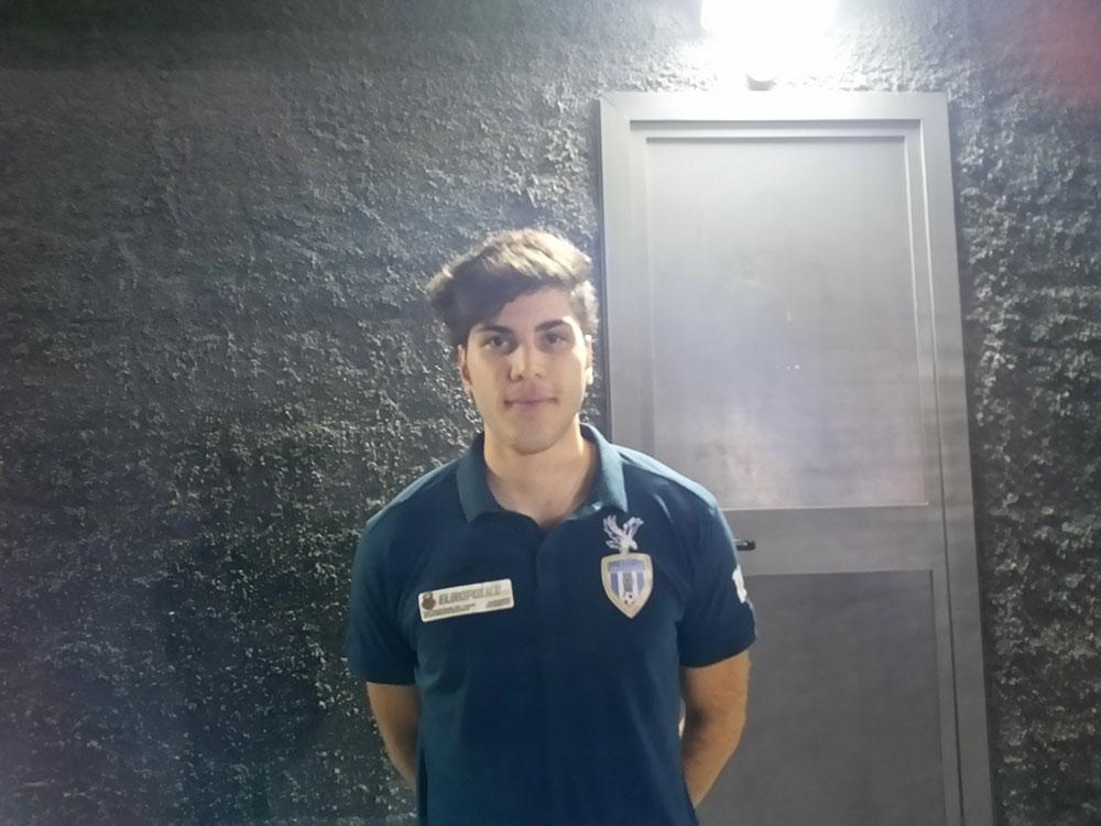 """Federico Foti, """"forza emergente"""" del Viagrande C5"""