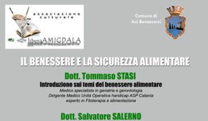"""Conferenza: il Benessere e la Sicurezza Alimentare @ Teatro """"Leonardo Sciascia""""   Aci Bonaccorsi   Sicilia   Italia"""
