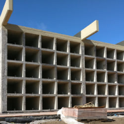 i loculi in costruzione