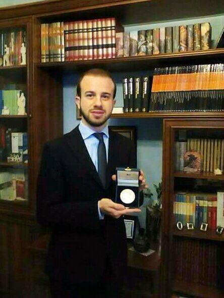 Medaglia del Presidente della Repubblica al Festival Organistico Cantantibus Organis