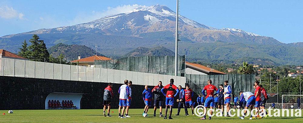 Allenamento condiviso concluso con una partitella, Catania-Sporting Viagrande 13-0