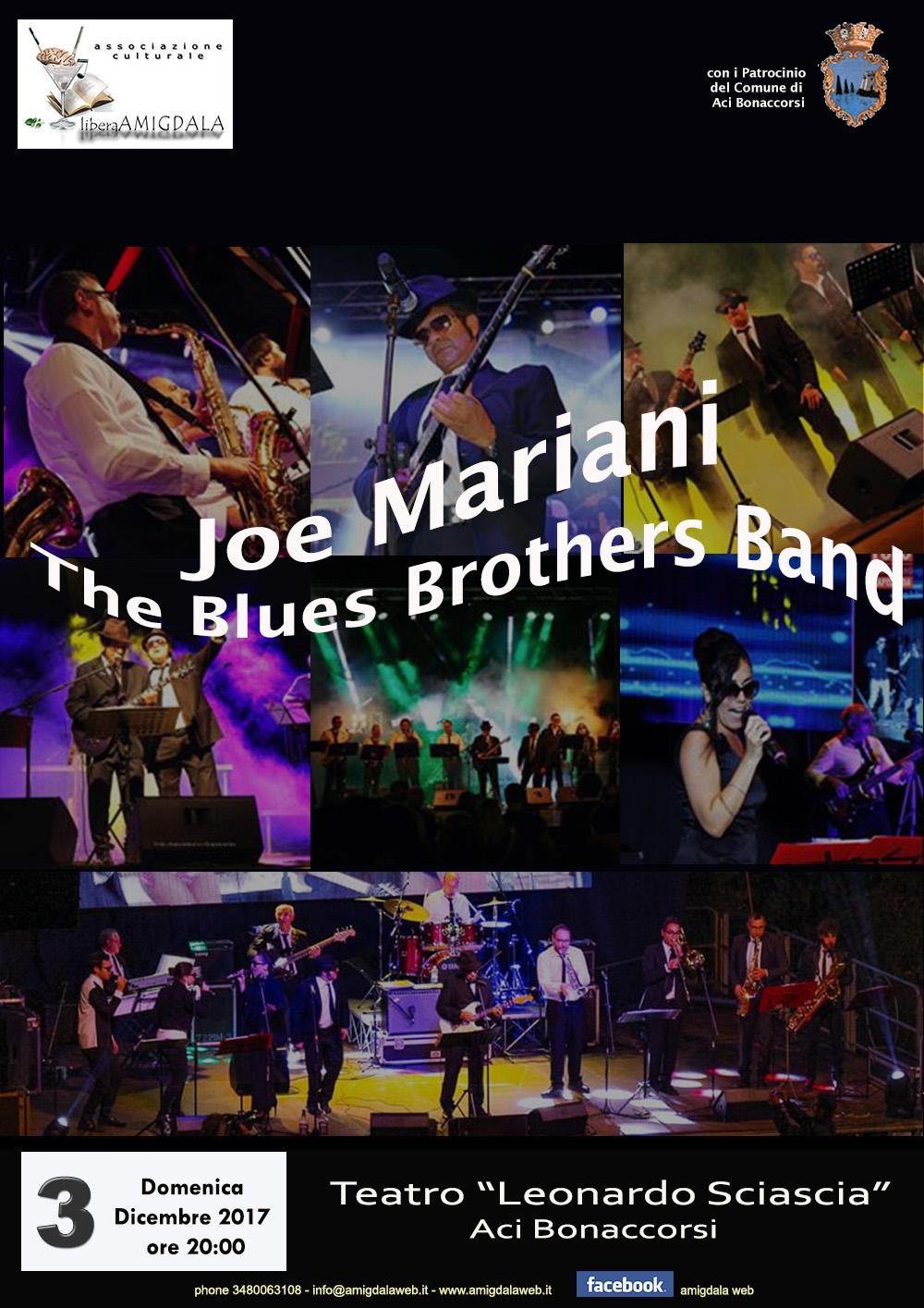 Amigdala presenta: Joe Mariani The Blues Brothers Band