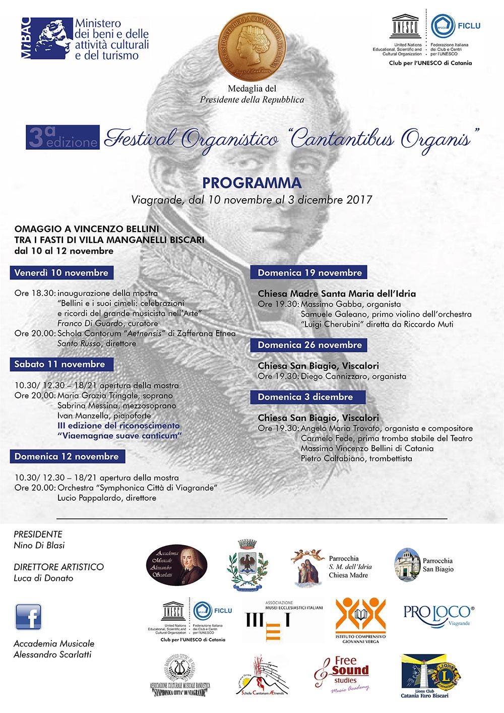 """Viagrande. Al via la terza edizione del Festival """"Cantantibus Organis"""". Intervista a Nino Di Blasi"""