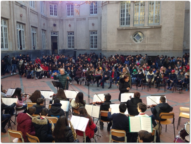 """Dal """"De Felice - Olivetti"""" un messaggio di pace e d'intercultura"""