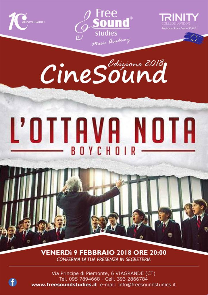 Ritornano i CineSound alla Free Sound