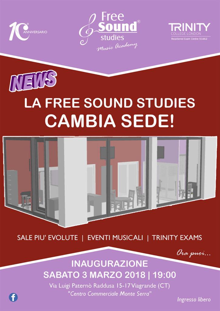 La Free Sound Studies – Music Academy inaugura la nuova sede