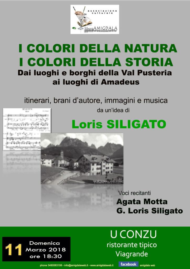 Amigdala: Viaggio d'Autore con Loris Siligato