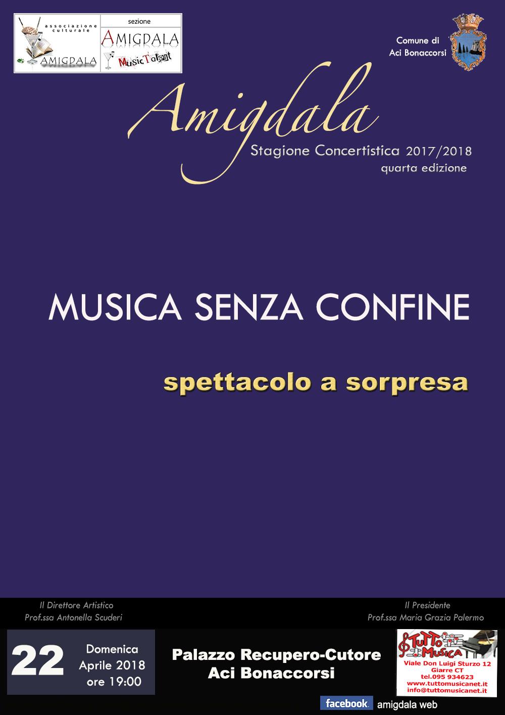 Amigdala: Musica Senza Confine