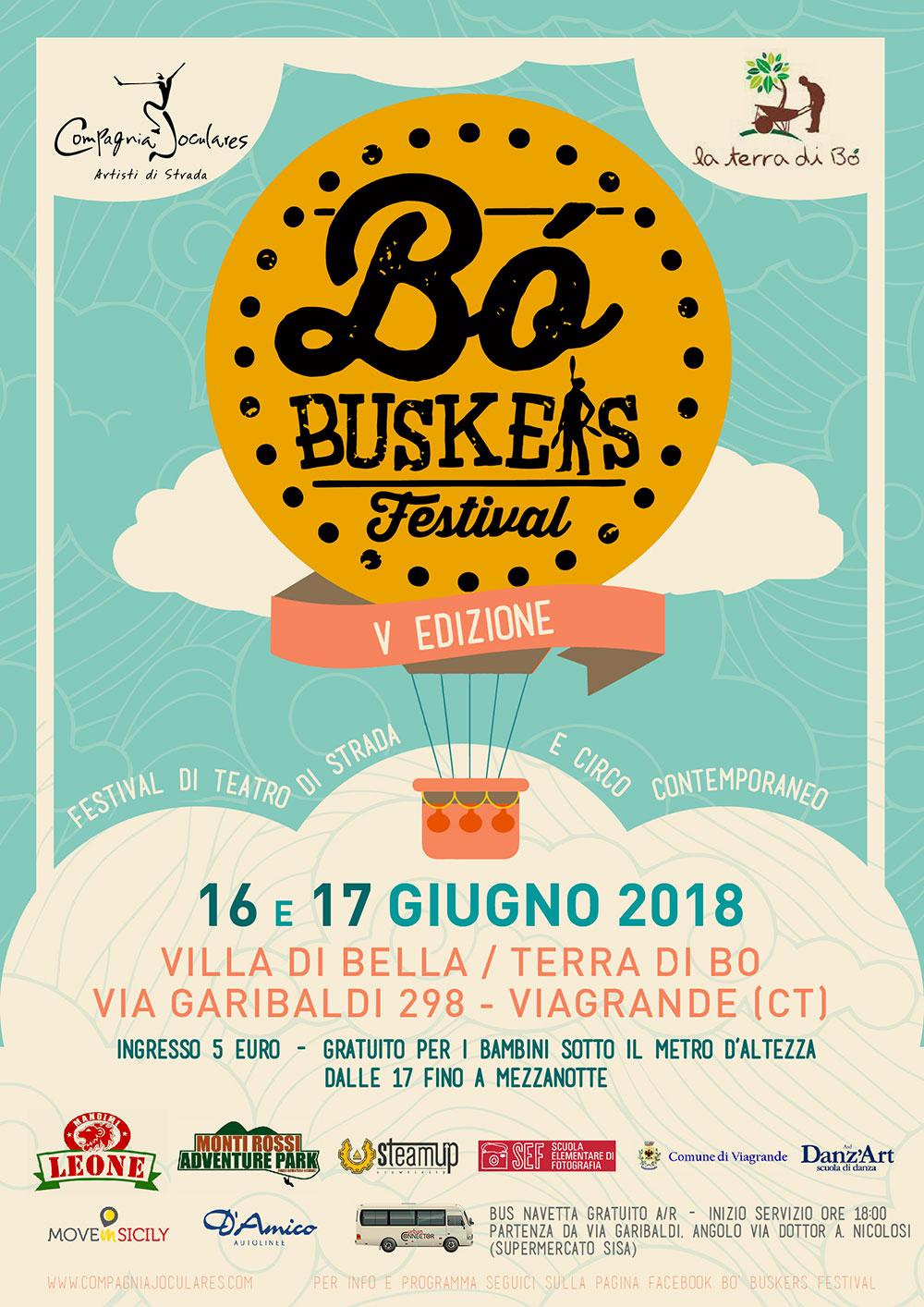 Viagrande. V Edizione Bò Buskers Festival