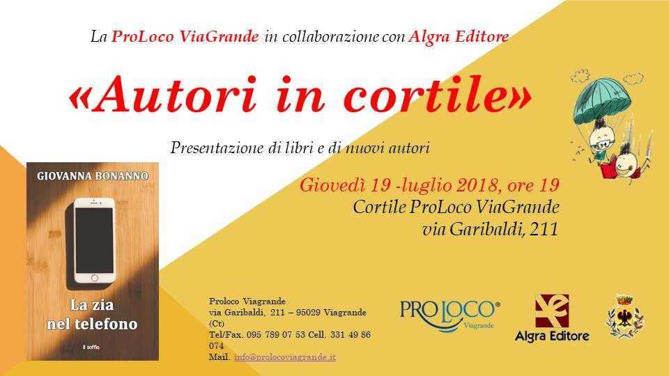 Autori in Cortile - Giovanna Bonanno