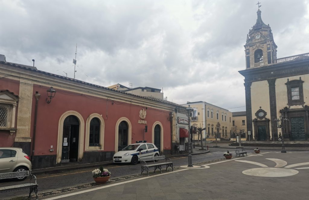 Piazza San Mauro - Viagrande (CT)