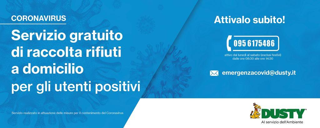 Cittadini positivi al Covid-19: le procedure da seguire per la raccolta e il ritiro dei rifiuti