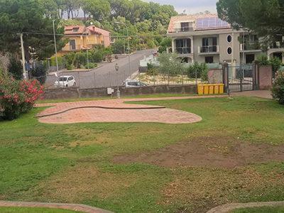 Viagrande, Parco Aniante. Consegnati i due cantieri di lavoro