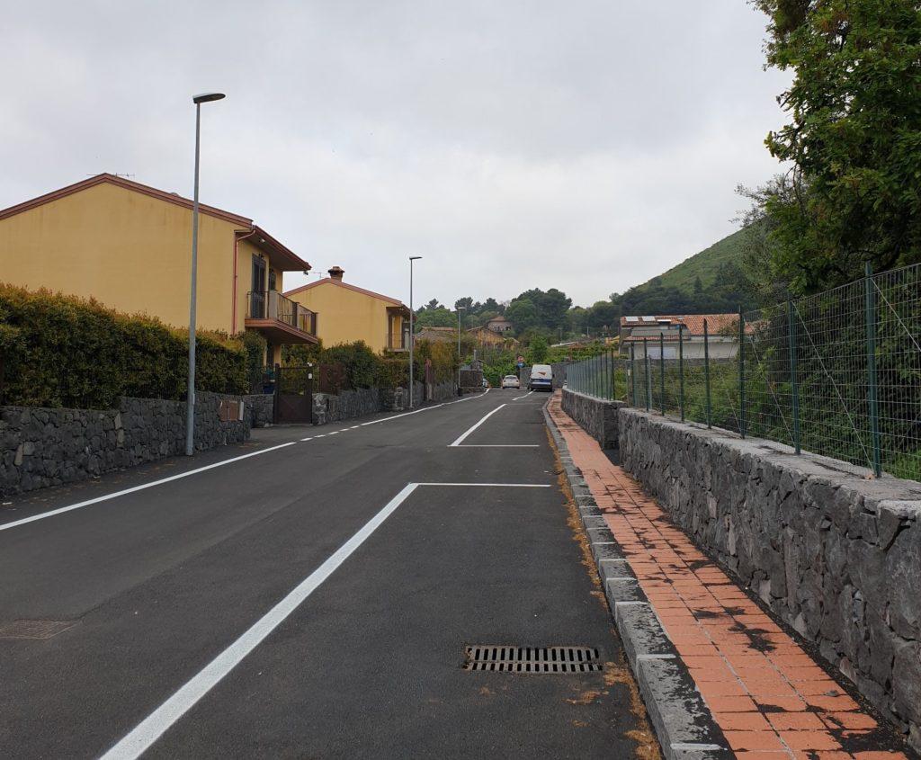 Viagrande. Ultimata e aperta al traffico via Pavarotti