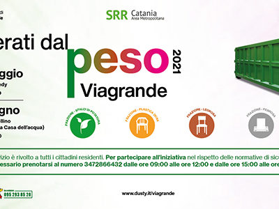 """Viagrande. Ritorna """"Liberati dal peso"""" l'iniziativa ecologica"""